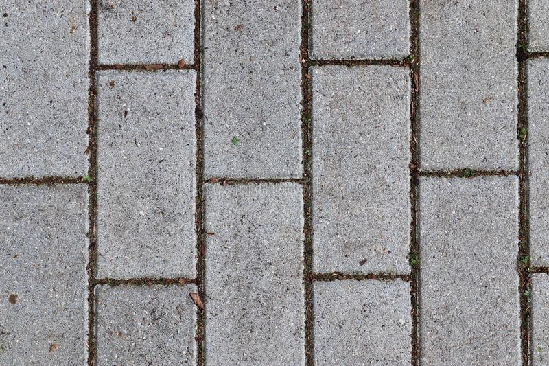 Close up detailed view on a cobblestone street pavement in high reoslution. Found in germany royalty free stock photos