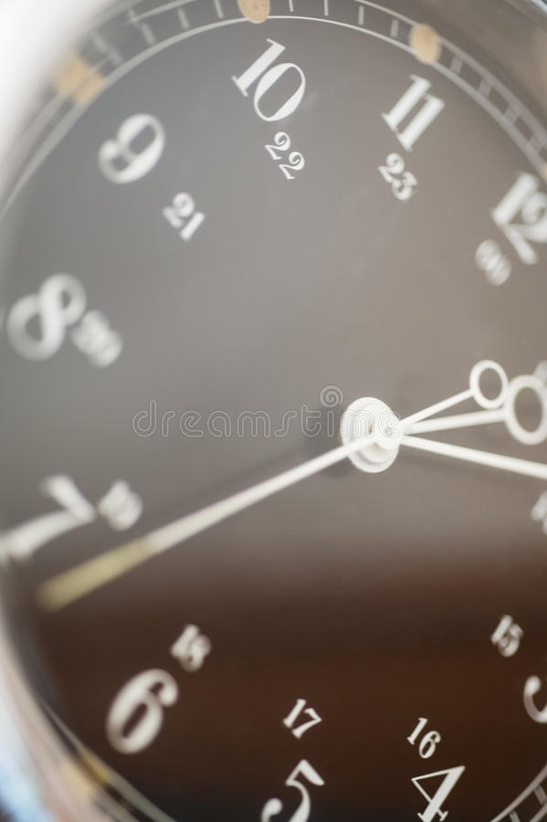 Close-up of dial on yacht royalty free stock images