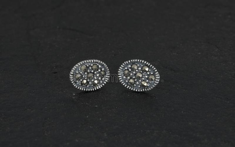 Daimond Earring royalty free stock photos