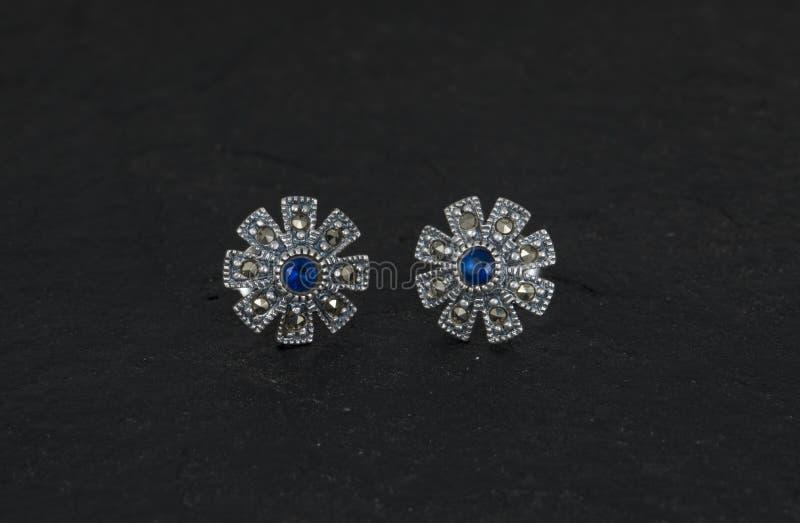 Daimond Earring stock photos