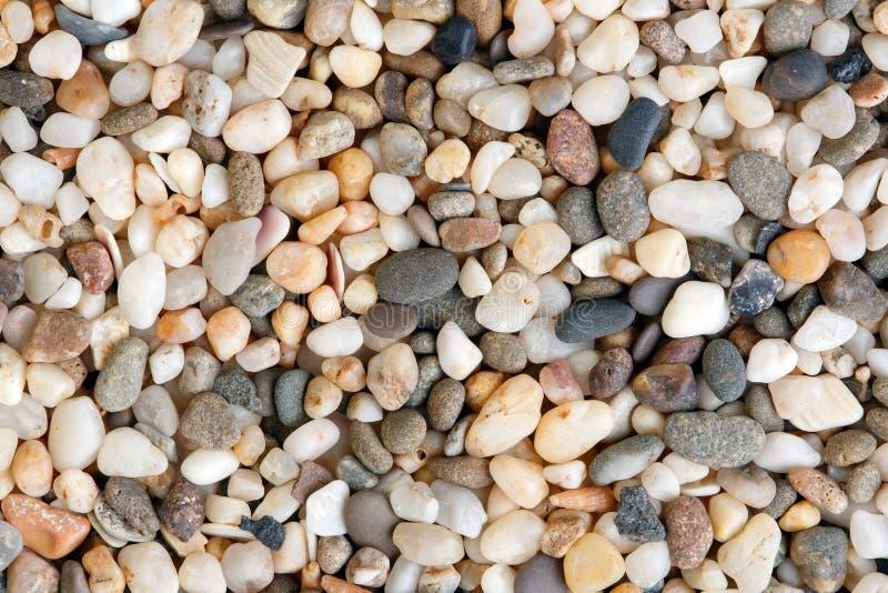 Close-up disparado de pedras de quartzo Textura natural das pedras fotografia de stock