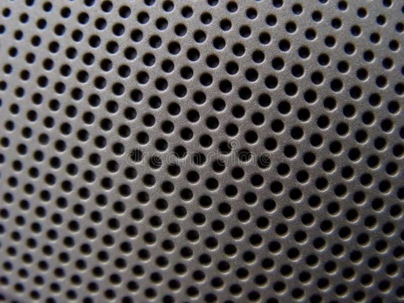 Close up do altofalante