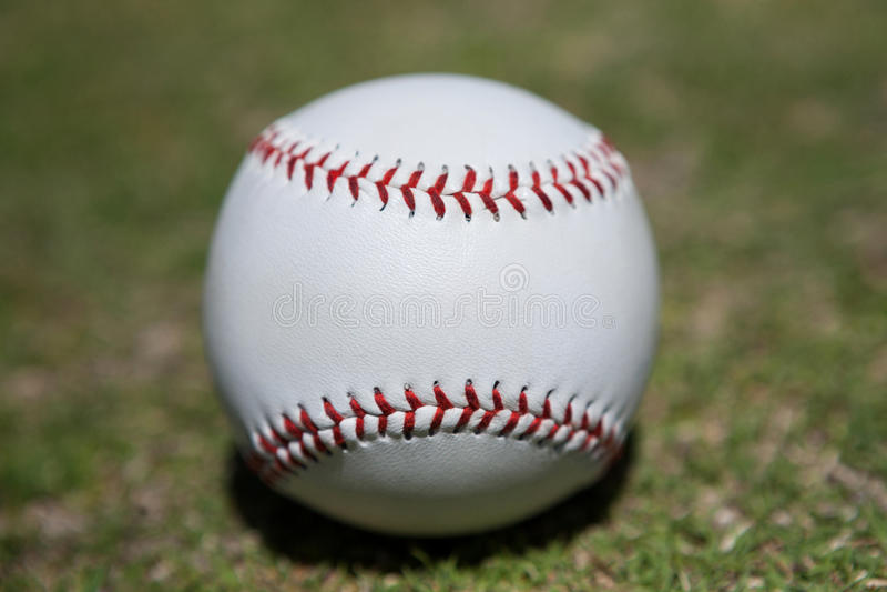 Close-up do basebol foto de stock royalty free