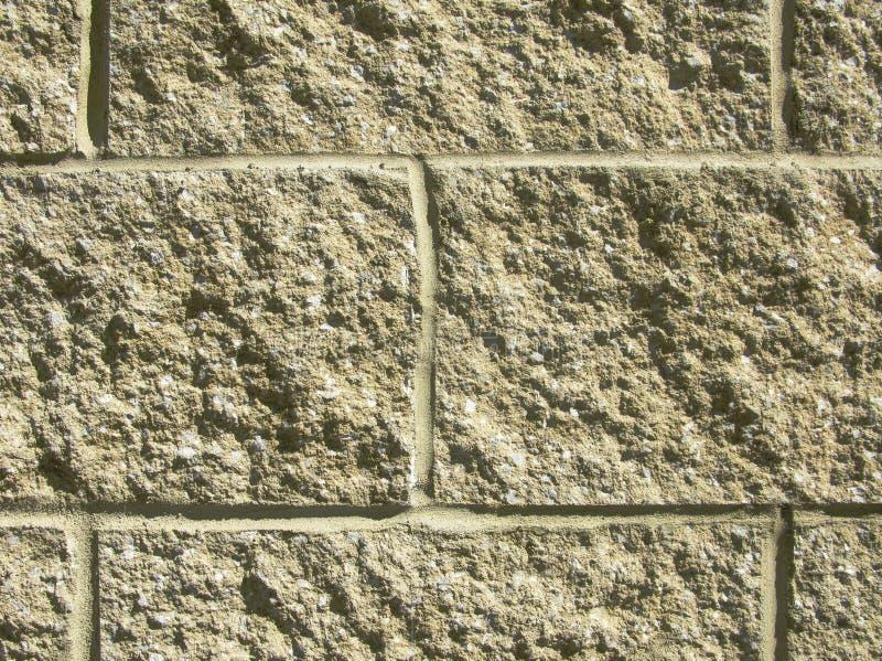 Close-up do bloco de cimento fotografia de stock