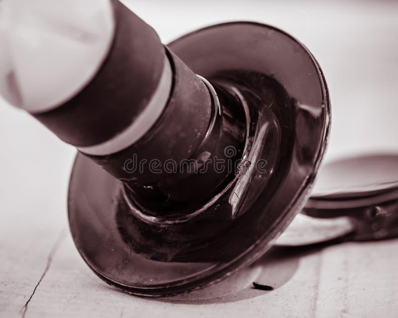 Close-up do bujão do vinho fotografia de stock