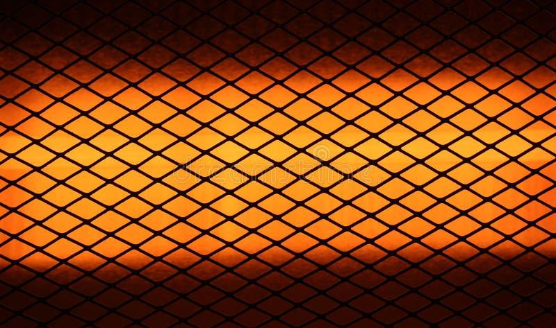 Close up do calefator elétrico fotografia de stock royalty free