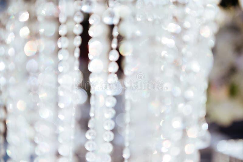 Close-up do candelabro de Chrystal fotos de stock