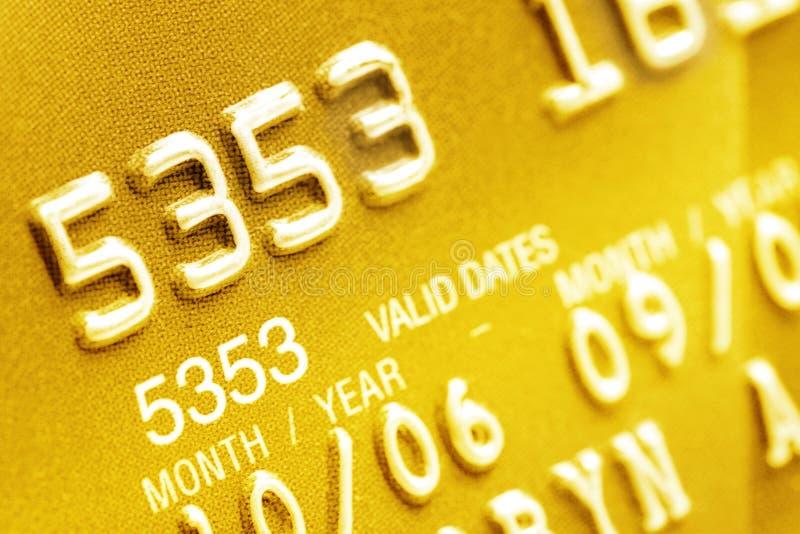Close up do cartão de crédito imagens de stock royalty free
