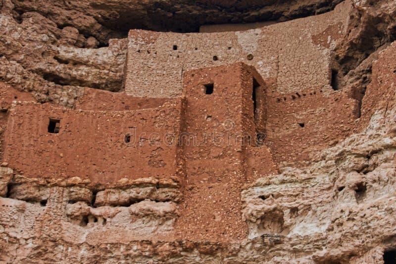 Close up do castelo de Montezuma fotos de stock royalty free