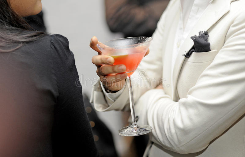 Close-up do cocktail fotos de stock royalty free