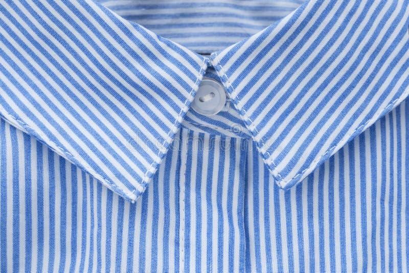 Close up do colar da camisa foto de stock royalty free
