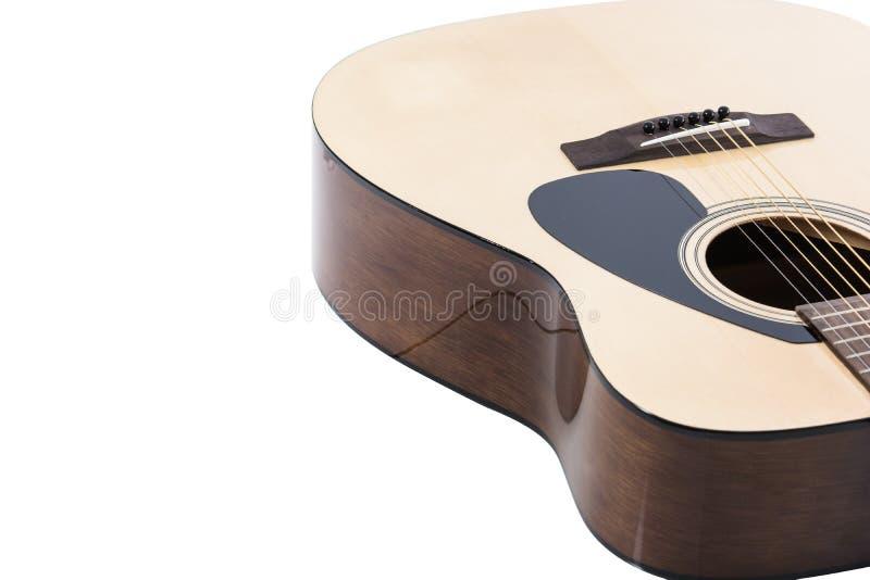 Close up do detalhe da guitarra clássica fotografia de stock
