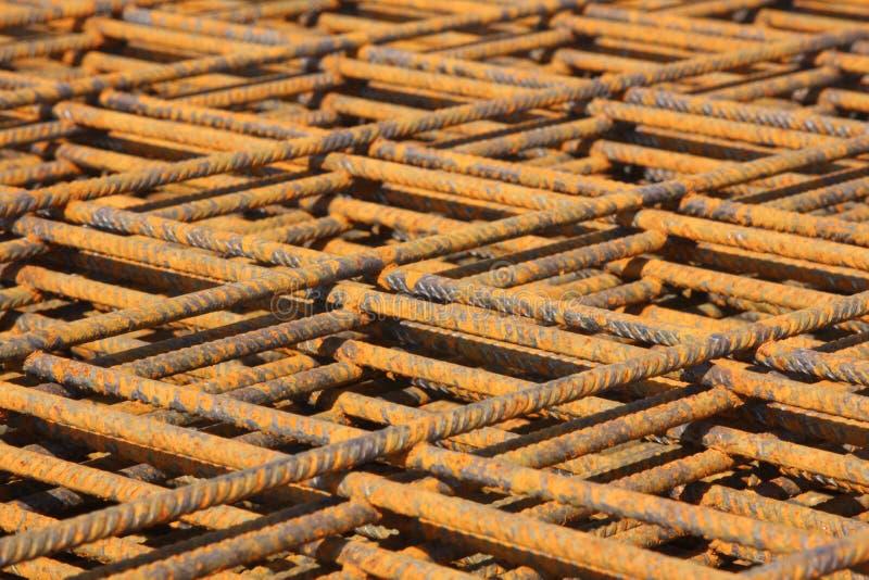 Close-up do engranzamento do ferro imagens de stock
