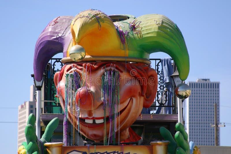 Close up do flutuador do carnaval fotografia de stock royalty free