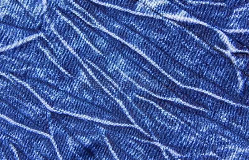 Close up do fundo das cuecas de calças de ganga fotografia de stock