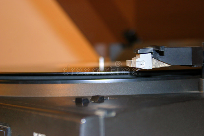 Close-up Do Gramofone Foto de Stock