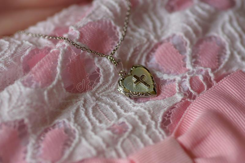 Close up do medalhão transversal fotografia de stock royalty free