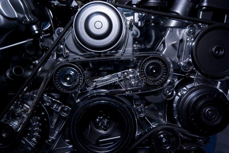 Close-Up do motor imagens de stock