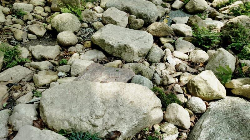 Close up do passeio e foto de pedra do fundo foto de stock royalty free