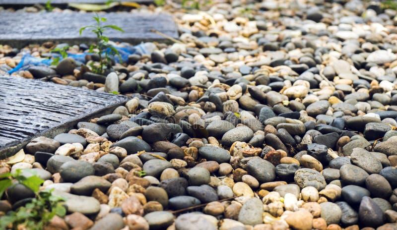 Close up do passeio e foto de pedra do fundo imagem de stock
