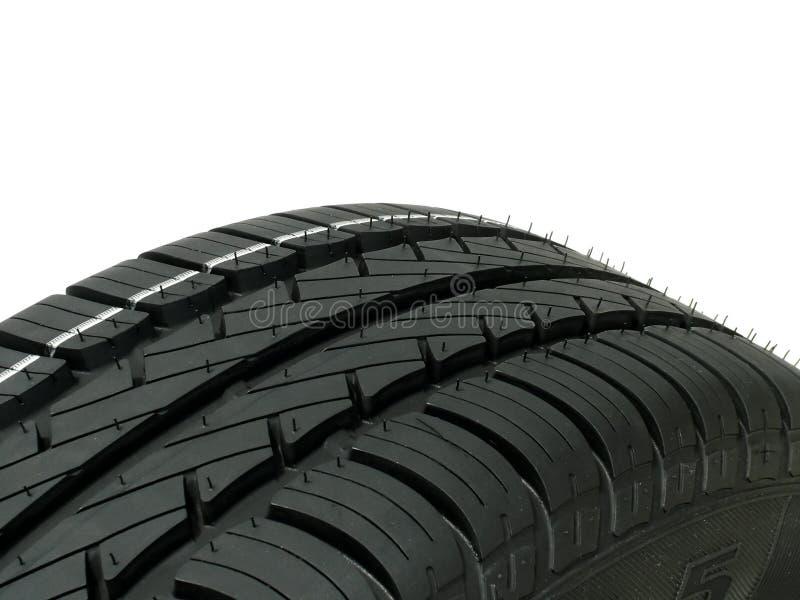 Close-up do pneu foto de stock royalty free