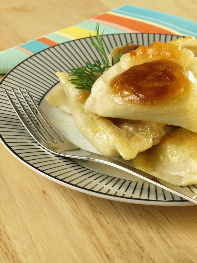 Close up do prato polonês. imagem de stock royalty free