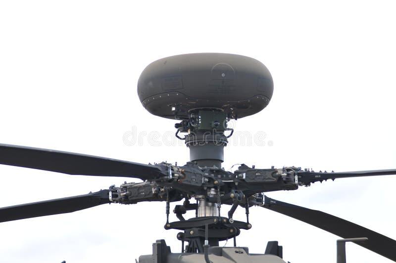 Close-up do radar da milímetro-onda do arco longo imagens de stock royalty free