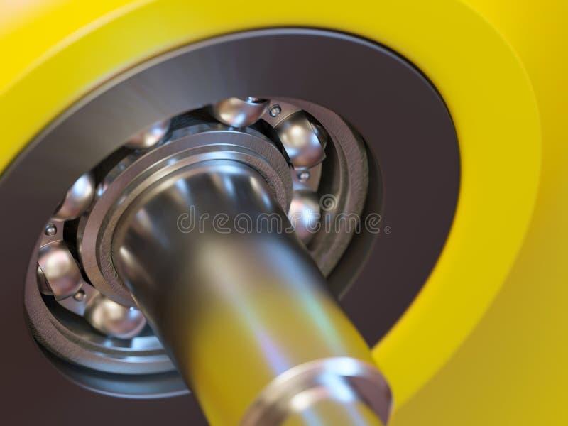 Close-up do rolamento de esferas imagem de stock royalty free