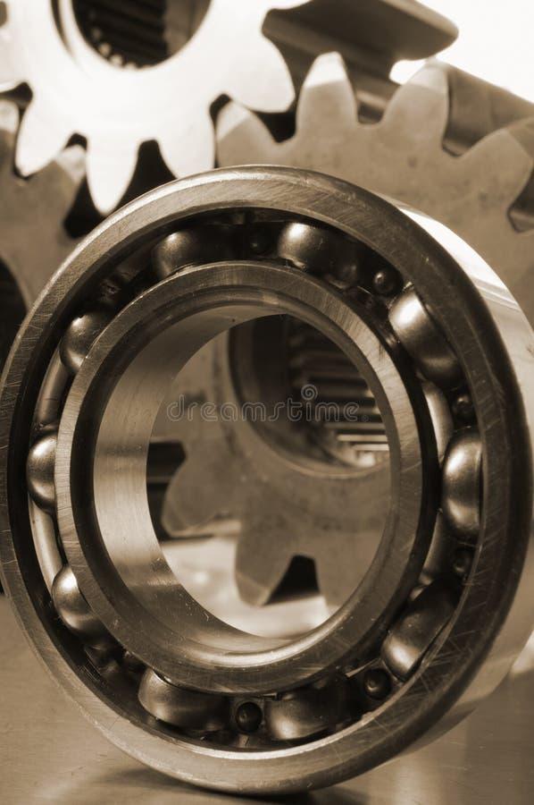 Close-up do rolamento de esferas fotos de stock