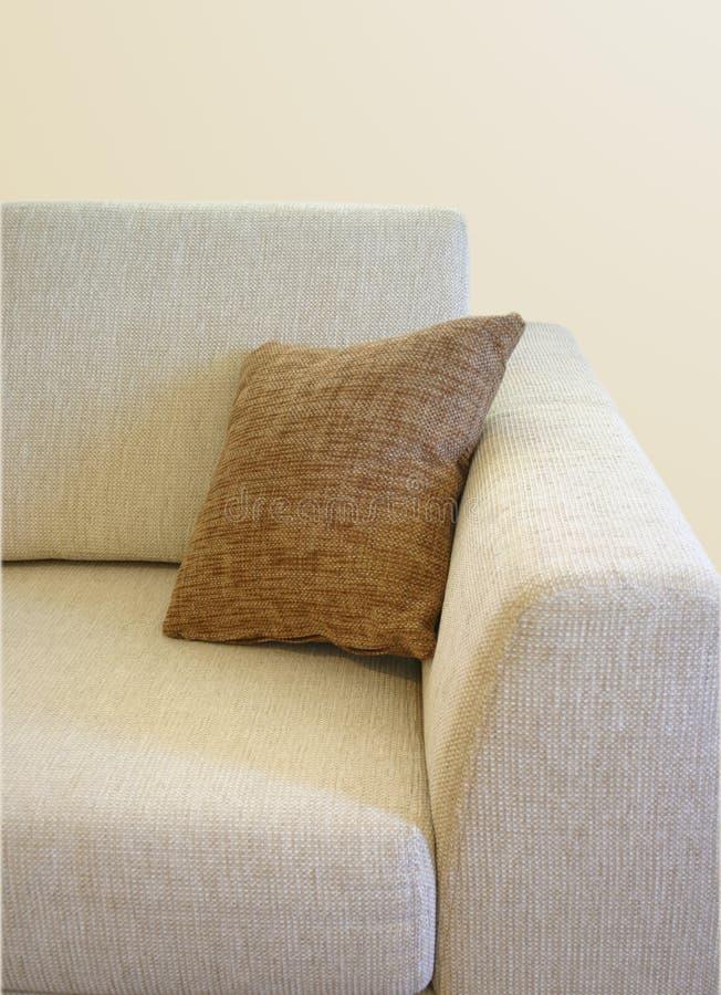 Close-up do sofá imagem de stock