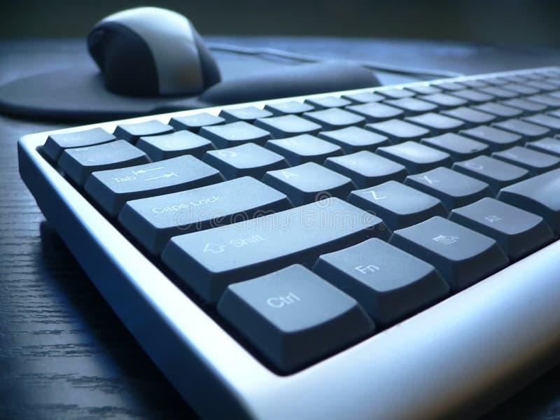 Close up do teclado