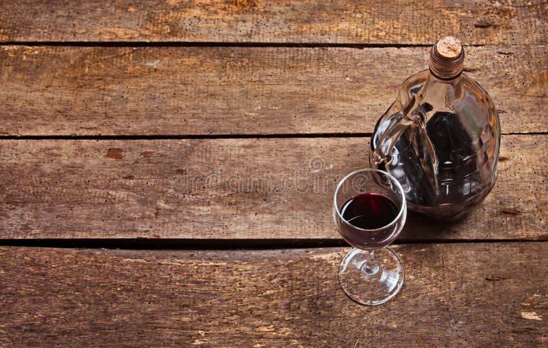 Close up do vidro de vinho imagem de stock