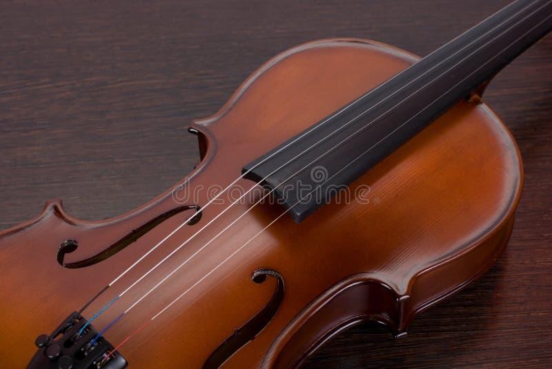 Close up do violino foto de stock royalty free