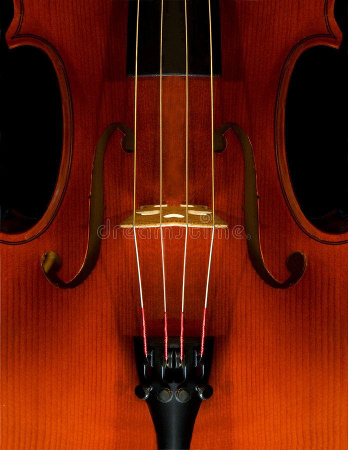 Close-Up do violino foto de stock royalty free