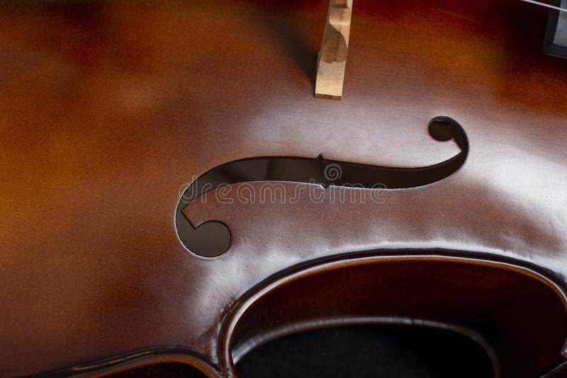 Close-up do violoncelo imagens de stock royalty free