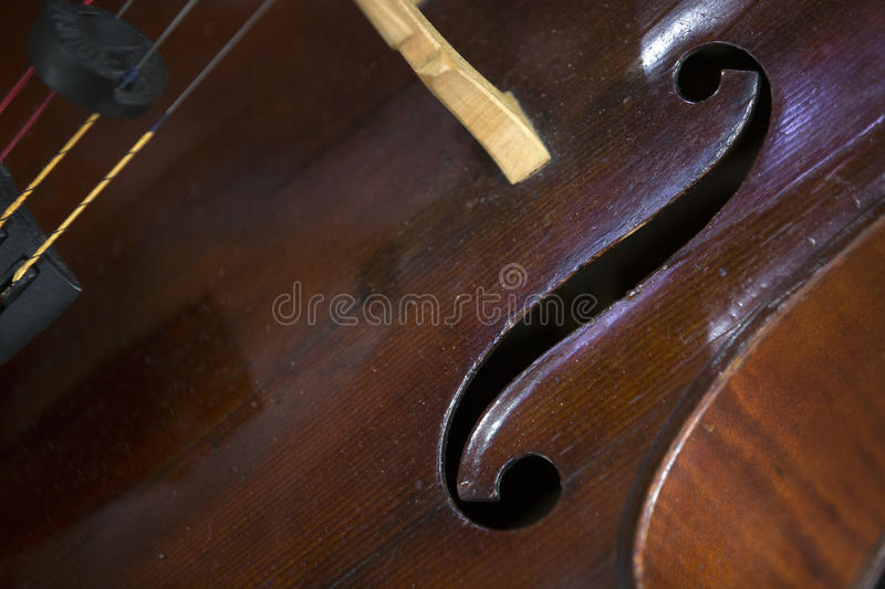 Close-up do violoncelo imagens de stock