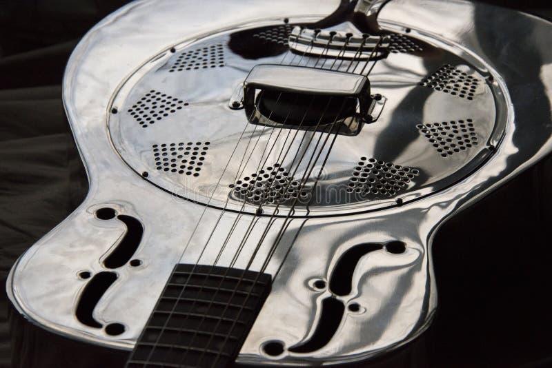 Close up of dobro guitar stock photos