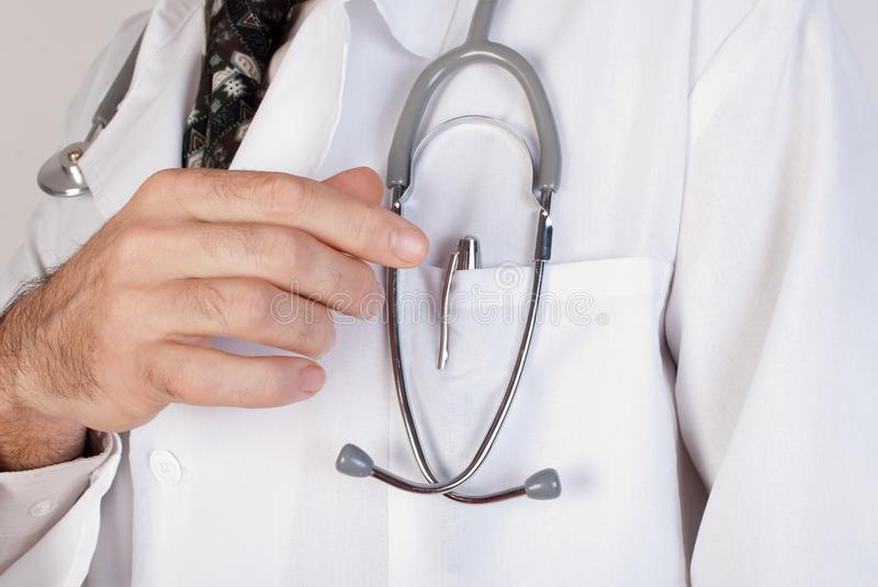 Download Close Up Of  Doctors Lab White Coat Stock Images - Image: 29573374