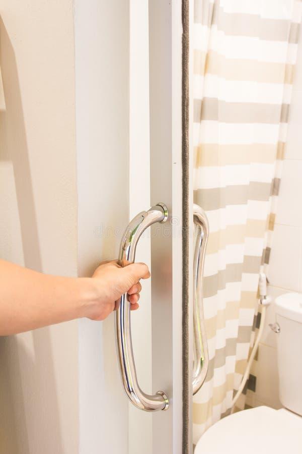 Door handle royalty free stock images