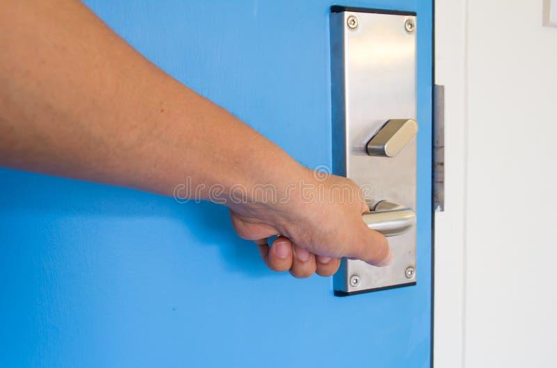 Door handle stock images
