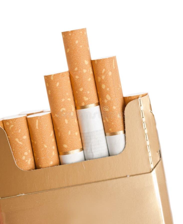 Close-up dos cigarros fotografia de stock