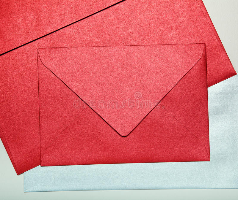 Close-up dos envelopes. foto de stock