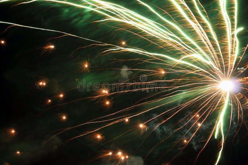 Close-up dos fogos-de-artifício fotos de stock