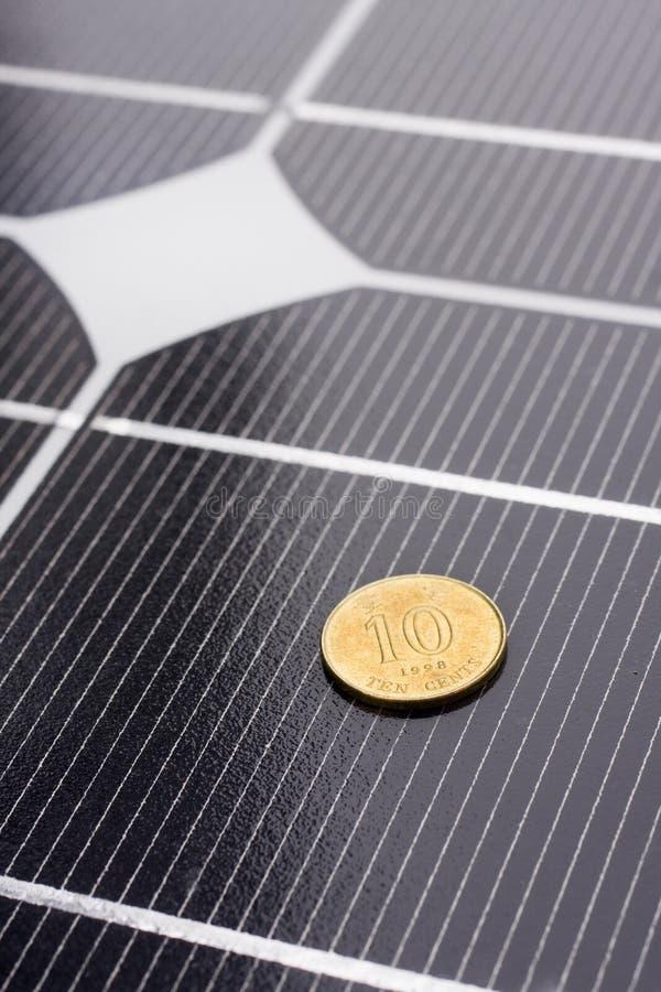 Download Close Up Dos Painéis Solares Imagem de Stock - Imagem de retângulos, solar: 12811653
