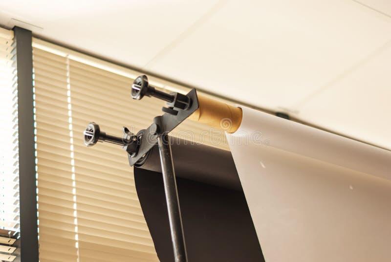 Close-up dos rolos em um suporte do vinil Usado para o fundo em um pho foto de stock royalty free