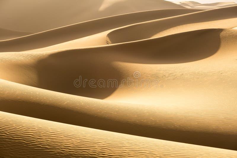 close up dourado das dunas de areia imagem de stock royalty free