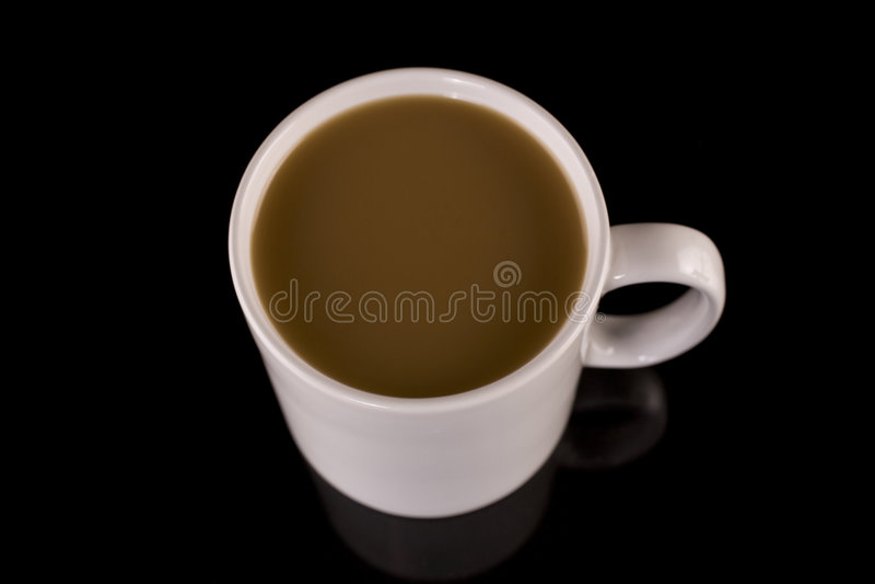 Close up of drink in mug