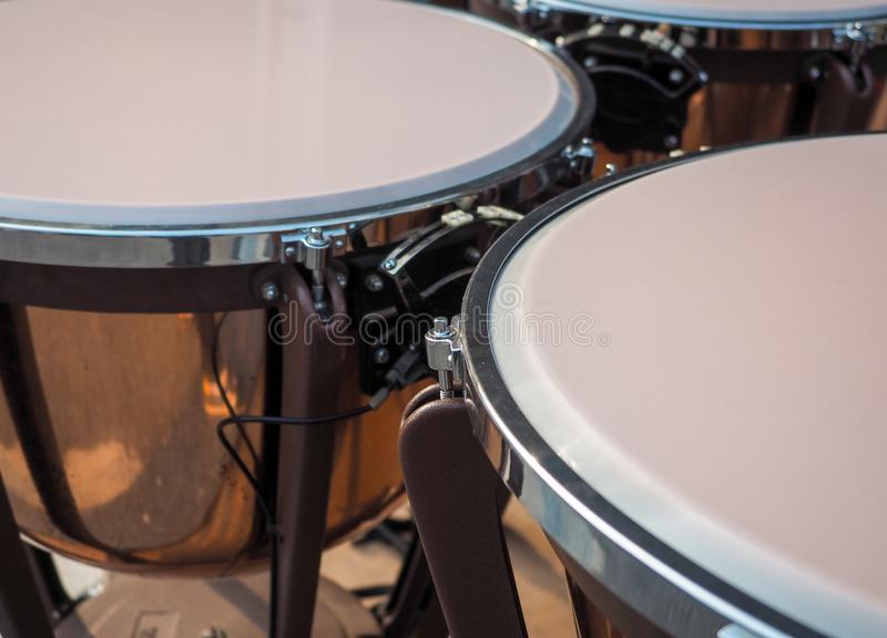 Close up drum.  royalty free stock images