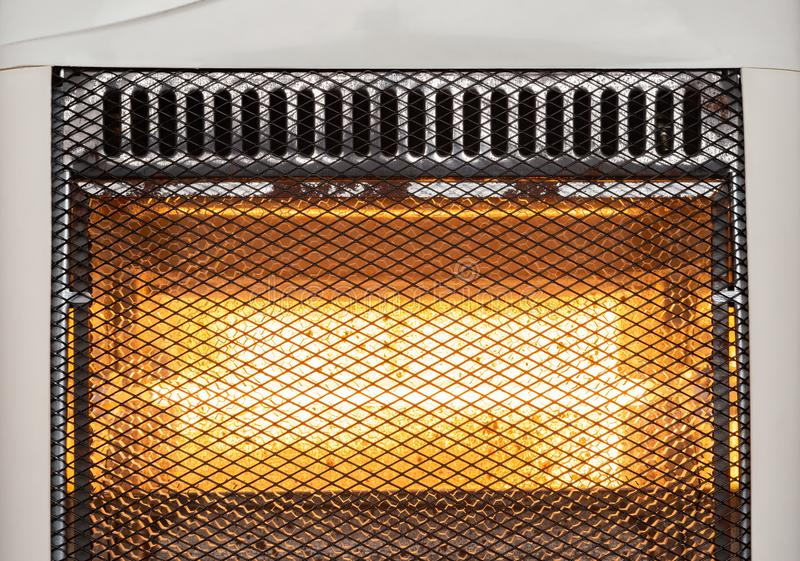Close up of electric heater stock photos