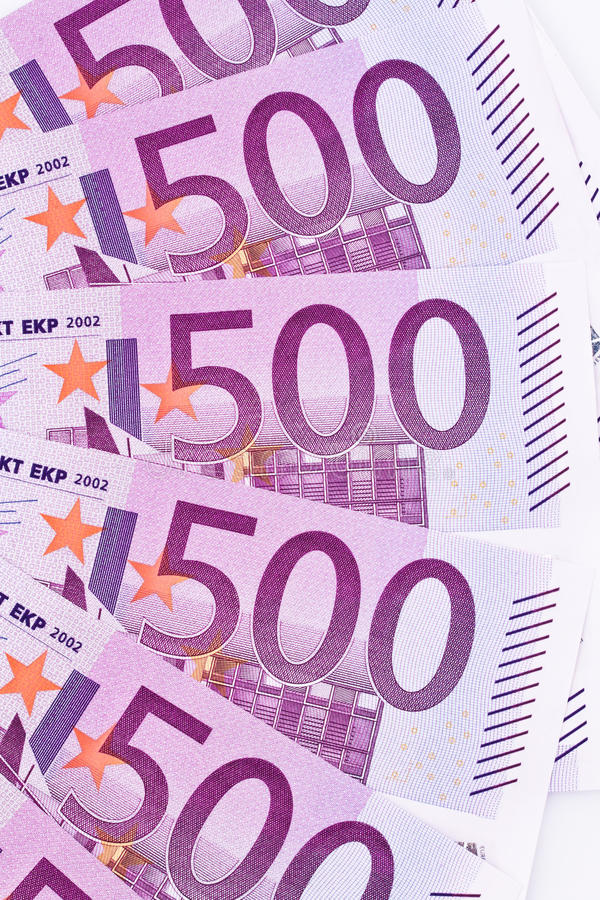 Download Close Up Of A Euro Banknote Stock Image - Image of precaution, finance: 21841783